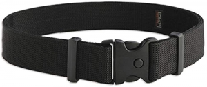 Delux Duty Belt, black, Large Nylon