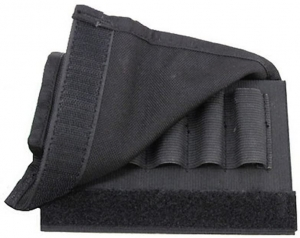 Buttstock Shell Holder,Rifle-w/Flap