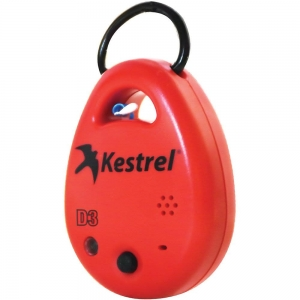 Kestrel Drop D3 Enviro Logger RED