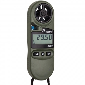 Kestrel 2500NV Weather Meter/ Dig. Alti, OLIVE