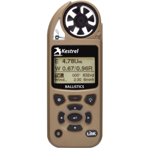 Kestrel 5700 Ballistics Weather Meter, LiNK, Tan