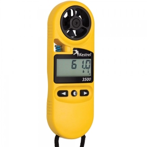 Kestrel 3500 Weather/Digital Psychrometer yellow