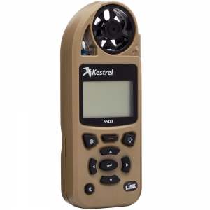 Kestrel 5500 Weather Meter with LiNK desert tan