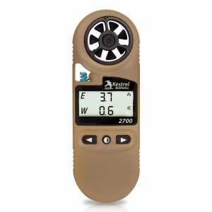 Kestrel 2700 Ballistics Weather Meter, Tan